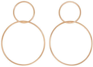 Isabel Marant Rose Gold Floyd Earrings