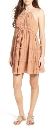 Women's Sun & Shadow Halter Dress $49 thestylecure.com