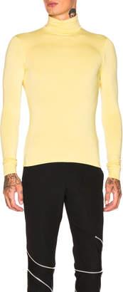 Raf Simons Classic Turtleneck in Yellow | FWRD