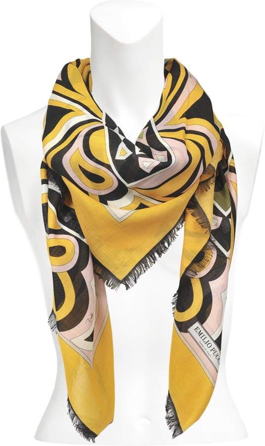 Emilio Pucci Mask shawl