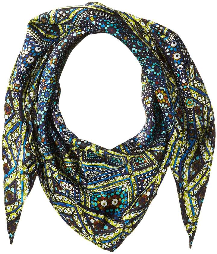 Echo Design - Medallion Silk Diamond Shaped Scarf Scarves