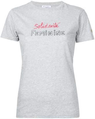 Bella Freud statement Solidarité Feminine T-shirt