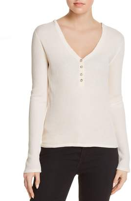 Elizabeth and James Ester Thermal Henley Top