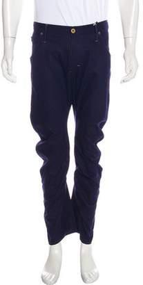 G Star Linen-Blend Skinny Jeans