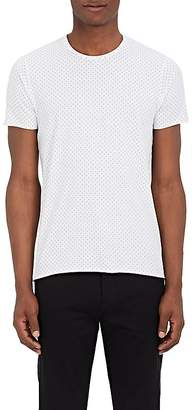 Barneys New York MEN'S GEOMETRIC-PRINT COTTON T-SHIRT