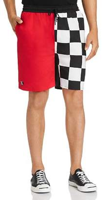 nANA jUDY x Disney Checker Color-Block Shorts