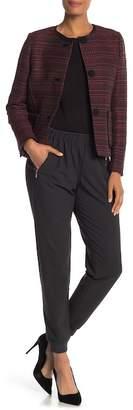 Lafayette 148 New York Zipper Pocket Track Pants