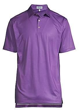 Peter Millar Men's Tazza Print Foulard Polo Shirt
