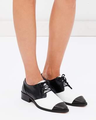 Prime Square Derby Shoes