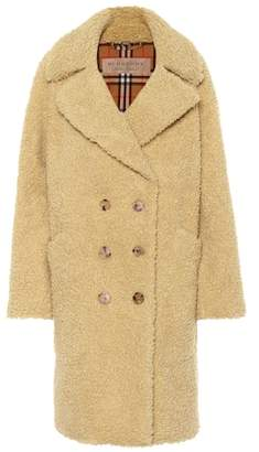 Burberry Wool-blend teddy coat