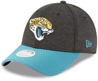 New Era Women's Jacksonville Jaguars On Field Sideline Home 9FORTY Strapback Cap