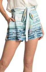 Lenny Niemeyer Tie Waist Shorts