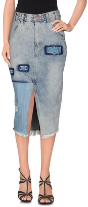 One Teaspoon ONE x ONETEASPOON Denim skirts