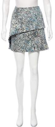 Cacharel Printed Mini Skirt