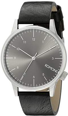 Komono Unisex KOM-W2255 Winston Regal Series Analog Display Japanese Quartz Watch