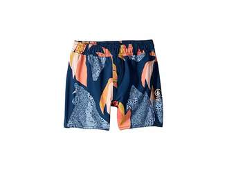 Volcom Garden Volley Boardshorts (Toddler/Little Kids)