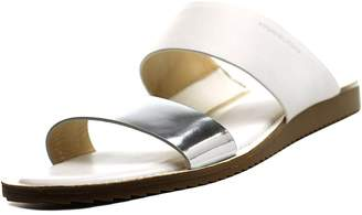 MICHAEL Michael Kors Millie Slide Women US 7.5 White Slides Sandal