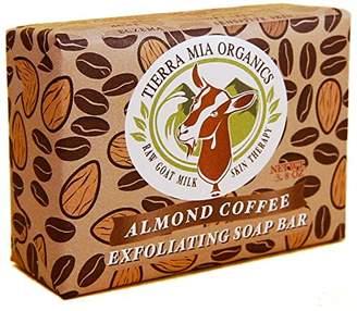 Tierra Mia Organics Almond Coffee Exfoliating Body Bar Soap