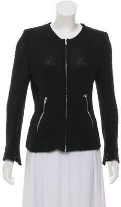 IRO Leather Trim Jacket