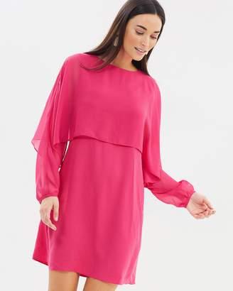 Dorothy Perkins Chiffon Overlay Dress