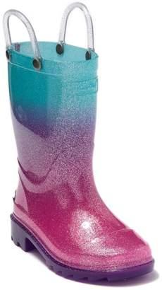 Western Chief Ombre Glitter Waterproof Rain Boot (Toddler & Little Kid)
