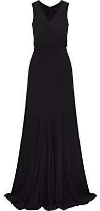 Derek Lam Draped Crepe Gown