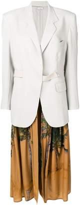 Natasha Zinko long tropical detail blazer