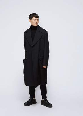 Ann Demeulemeester Priestly Double Breasted Coat