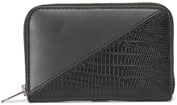Alexander WangAlexander Wang Mini Dime Patchwork Compact Wallet