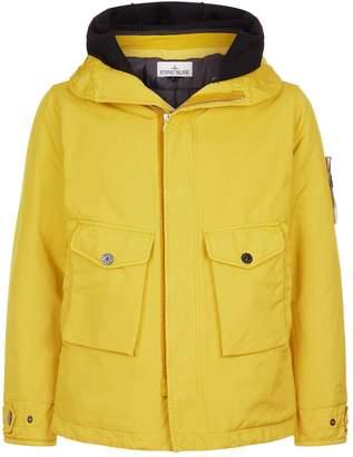 Stone Island Woollen Hood Parka Jacket