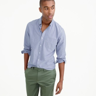 Slim lightweight oxford shirt in solid $64.50 thestylecure.com