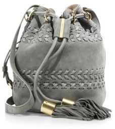 See by Chloe Vicki Small Leather Bucket Bag $395 thestylecure.com