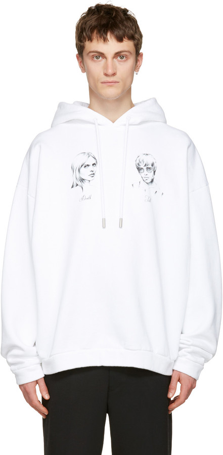 Off-White White 'Till Death' Hoodie