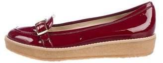 Stella McCartney Vegan Patent Leather Loafers