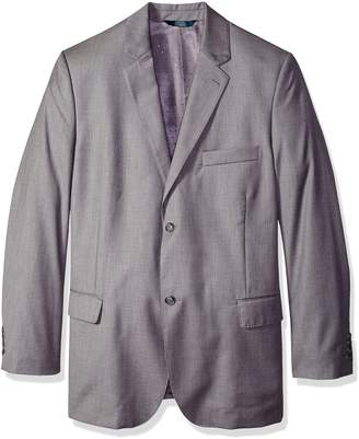 Perry Ellis Men's Big and Tall Texture Pvl Suit Jacket