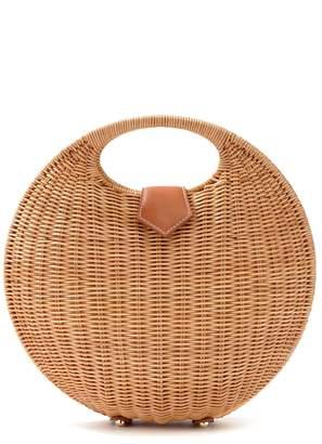 J.Mclaughlin Victoria Circular Wicker Bag