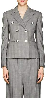 CALVIN KLEIN 205W39NYC Women's Glen Plaid Wool Crop Blazer