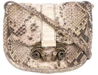 Derek Lam Python Ume Saddle Bag