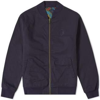 Billionaire Boys Club Paisley Reversible Bomber Jacket