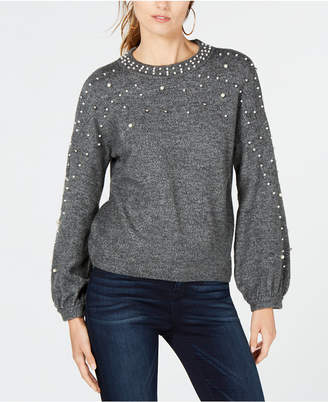 INC International Concepts I.n.c. Embellished Sweater