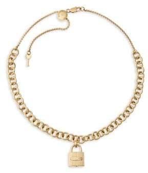 Michael Kors Hamilton Padlock Necklace