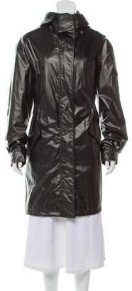 Burberry Woven Zip-Up Jacket