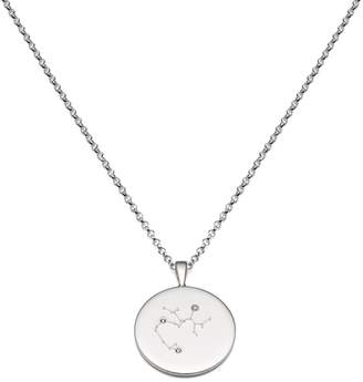 Harry Rocks - Sagittarius Constellation Silver & Diamond Necklace