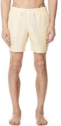 Lacoste Men's Striped Seersucker Mid Legth
