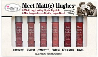 TheBalm Meet Matt(e) Hughes Liquid Lipstick Set - Limited Edition $29 thestylecure.com