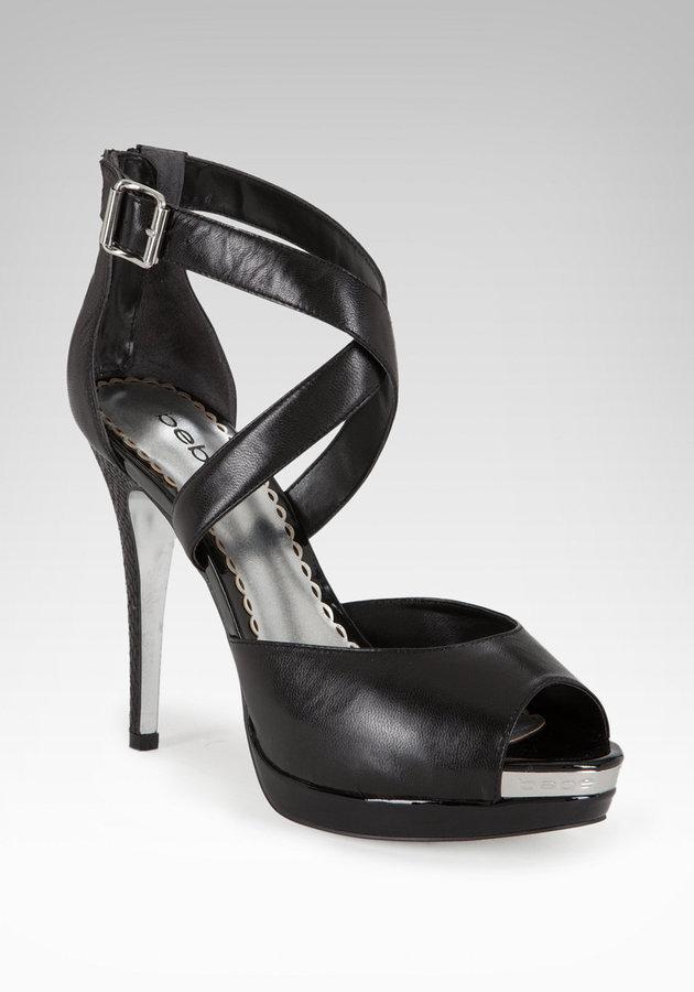 Bebe Audrey Crisscross Sandal