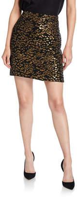 Elie Tahari Cici Sequined Mini Skirt
