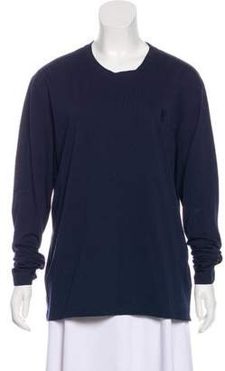 Versace Long Sleeve Crew Neck Top w/ Tags