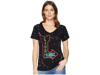 Rock and Roll Cowgirl Short Sleeve Tee 49T6734