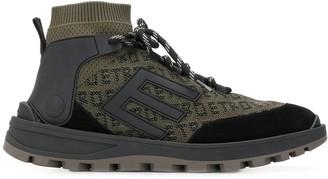 Etro logo print sock sneakers